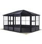 SOJAG Pavillon »Charleston«, Satteldach, rechteckig, B x T: 384 x 384 cm-Thumbnail