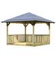 KARIBU Pavillon »Cordoba«, Spitzdach, quadratisch, BxT: 289 x 289 cm, inkl. Dacheindeckung-Thumbnail