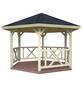 PALMAKO AS Pavillon »Kreta«, Spitzdach, sechseckig, BxT: 423 x 423 cm, ohne Dacheindeckung-Thumbnail
