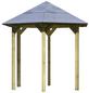 KARIBU Pavillon »Lissabon«, Walmdach, sechseckig, BxHxT: 276 x 280 x 243 cm-Thumbnail
