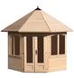 MR. GARDENER Pavillon »Lövanger 1«, Spitzdach, achteckig, BxT: 359 x 359 cm, ohne Dacheindeckung-Thumbnail