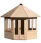 MR. GARDENER Pavillon »Lövanger 2«, Spitzdach, achteckig, BxT: 359 x 359 cm, ohne Dacheindeckung-Thumbnail