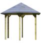 KARIBU Pavillon »Madrid«, Walmdach, sechseckig, B x T: 276 x 275 cm-Thumbnail