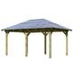 KARIBU Pavillon »Mailand«, Walmdach, rechteckig, BxT: 485 x 345 cm, inkl. Dacheindeckung-Thumbnail