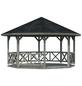 PALMAKO AS Pavillon »Rhodos«, Zeltdach, achteckig, BxT: 550 x 550 cm-Thumbnail