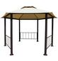 LECO Pavillon, Sechseckdach, sechseckig, BxT: 395 x 395 cm, inkl. Dacheindeckung-Thumbnail