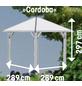 KARIBU Pavillon-Set »Cordoba«, Walmdach, viereckig, BxHxT: 357 x 297 x 357 cm-Thumbnail