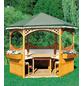 PROMADINO Pavillon-Set »Palma«, sechseckig, BxT: 326 x 308 cm-Thumbnail