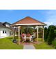 WEKA Pavillon-Set, sechseckig, BxT: 399 x 461 cm, inkl. Dacheindeckung-Thumbnail