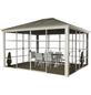 SOJAG Pavillon »Striano«, Walmdach, rechteckig, BxT: 362 x 298 cm, inkl. Dacheindeckung-Thumbnail