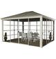 SOJAG Pavillon »Striano«, Walmdach, rechteckig, BxT: 427 x 362 cm, inkl. Dacheindeckung-Thumbnail