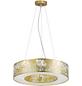 wofi® Pendelleuchte goldfarben 21 W, 1-flammig, inkl. Leuchtmittel in warmweiß-Thumbnail