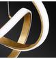 wofi® Pendelleuchte goldfarben 44 W, 1-flammig, dimmbar, inkl. Leuchtmittel in warmweiß-Thumbnail