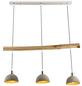 GLOBO LIGHTING Pendelleuchte »JEBEL«, Holz/Metall-Thumbnail
