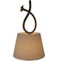 NÄVE Pendelleuchte »Rope«, E27, ohne Leuchtmittel-Thumbnail