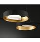 wofi® Pendelleuchte schwarz/goldfarben 26 W, 6-flammig, inkl. Leuchtmittel in warmweiß-Thumbnail