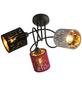 Pendelleuchte »TICON« schwarz 25 W, 3-flammig, E14, inkl. Leuchtmittel-Thumbnail