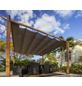 PARAGON OUTDOOR Pergola, flach, quadratisch, BxT: 350 x 350 cm, inkl. Dacheindeckung-Thumbnail