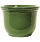 Kirschke Pflanzgefäß »Lage« mit 3,5 l Fassungsvermögen, rund, grün-Thumbnail