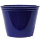 Kirschke Pflanzgefäß »Lemgo« mit 11,9 l Fassungsvermögen, rund, blau-Thumbnail