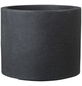 CASAYA Pflanzgefäß »ROMA«, ØxH: 48 x 41 cm, schwarz-Thumbnail