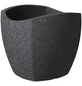 SCHEURICH Pflanzgefäß »WAVE GLOBE CUBO«, BxHxT: 39,4 x 35,5 x 39,4 cm, schwarz-Thumbnail