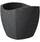 SCHEURICH Pflanzgefäß »WAVE GLOBE CUBO«, BxHxT: 49,4 x 44,5 x 49,4 cm, schwarz-Thumbnail
