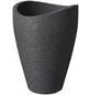 SCHEURICH Pflanzgefäß »WAVE GLOBE HIGH «, ØxH: 50,5 x 67 cm, schwarz-Thumbnail