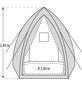PERGART Pflanzzelt »Hawaii«, 11,56 m², Gewebe, winterfest-Thumbnail