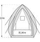PERGART Pflanzzelt »Hawaii«, BxHxL: 240 x 200 x 240 cm, Gewebe-Thumbnail