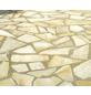 MR. GARDENER Pflasterstein »Yellow Sun«, aus Naturstein, glasiert, Kanten: gebrochen-Thumbnail