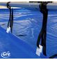 GRE Planenaufroller, BxLxH: 17 x 670 x 43 cm, Aluminium/Kunststoff-Thumbnail