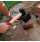 CONMETALL Plattenverlegehammer, 1,5 kg, Holz/Gummi-Thumbnail