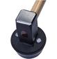 CONNEX Plattenverlegehammer »COX622256«, Durchmesser Kopf: 11 cm-Thumbnail
