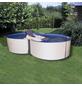 MYPOOL Pool-Set,  achtform, B x L x H: 300 x 470 x 120 cm-Thumbnail