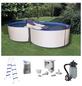 MYPOOL Pool-Set,  achtform, BxLxH: 300 x 470 x 110 cm-Thumbnail