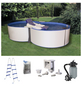 MYPOOL Pool-Set , achtform, BxLxH: 300 x 470 x 120 cm-Thumbnail
