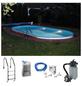 Pool-Set , oval, BxLxH: 250 x 450 x 110 cm-Thumbnail