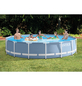 INTEX Pool-Set »Prism Rondo«, Ø x H: 457 cm x 84 cm-Thumbnail