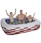 Pool, weiss|dunkelrot, BxHxL: 200 x 50 x 150 cm-Thumbnail