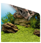 Poster, grau/grün/blau-Thumbnail