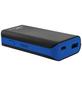 SCHWAIGER Powerbank, 4,4 Ah, 5 V, Lithium-Ionen, Schwarz | Blau-Thumbnail