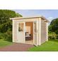 MR. GARDENER Pultdachhaus »Grenada«, BxT: 290 x 238 cm, Flachdach-Thumbnail