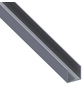 alfer® aluminium Quadrat-U-Profil, Combitech®, LxBxH: 2500 x 23,5 x 23,5 mm, Aluminium-Thumbnail