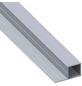 alfer® aluminium Quadratrohr »Combitech®«, BxHxL: 37,5 x 19,5 x 1000 mm, silberfarben-Thumbnail