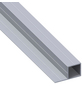 alfer® aluminium Quadratrohr »Combitech®«, BxHxL: 45,5 x 23,5 x 1000 mm, silberfarben-Thumbnail