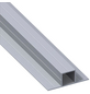 alfer® aluminium Quadratrohr »Combitech®«, BxHxL: 67,5 x 23,5 x 1000 mm, silberfarben-Thumbnail