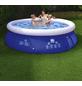 HAPPY PEOPLE Quick-Up Pool , rund, Ø x H: 240 x 63 cm-Thumbnail