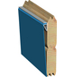 KARIBU Rechteckpool, braun, BxH: 350 x 125 cm-Thumbnail