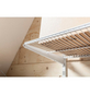 ELEMENT SYSTEM Regalbodenträger TWIN Metall weiß 32,7 x 4,9 x 1,8 cm-Thumbnail